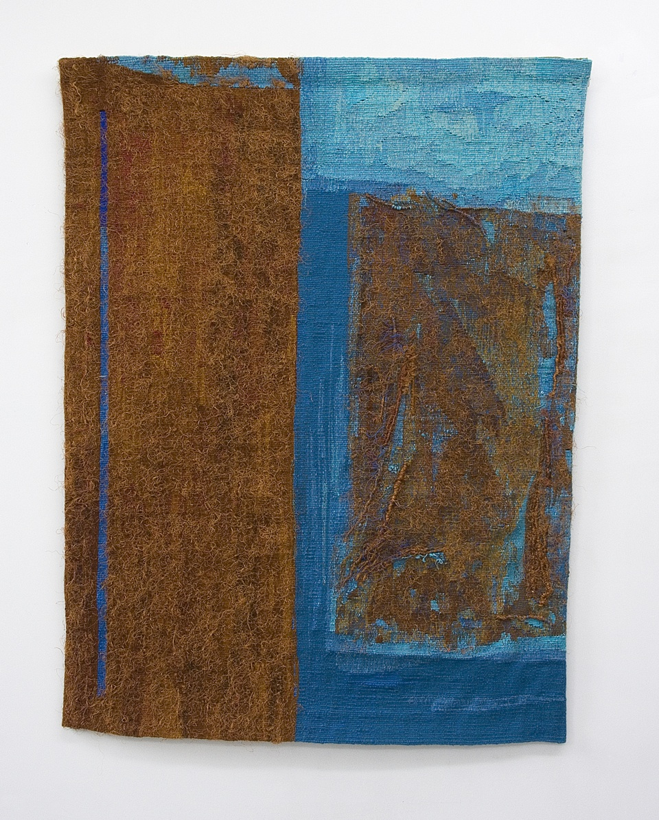 Morning Passage, 1999, Woven Tapestry, 90cm x 105cm