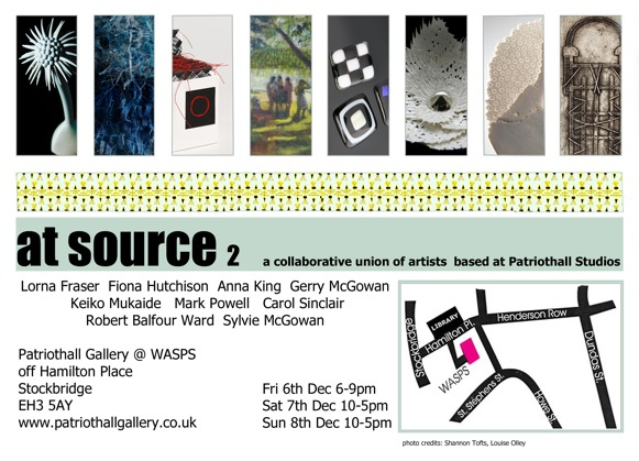 at source2 Christmas Exhibition and Open Studio