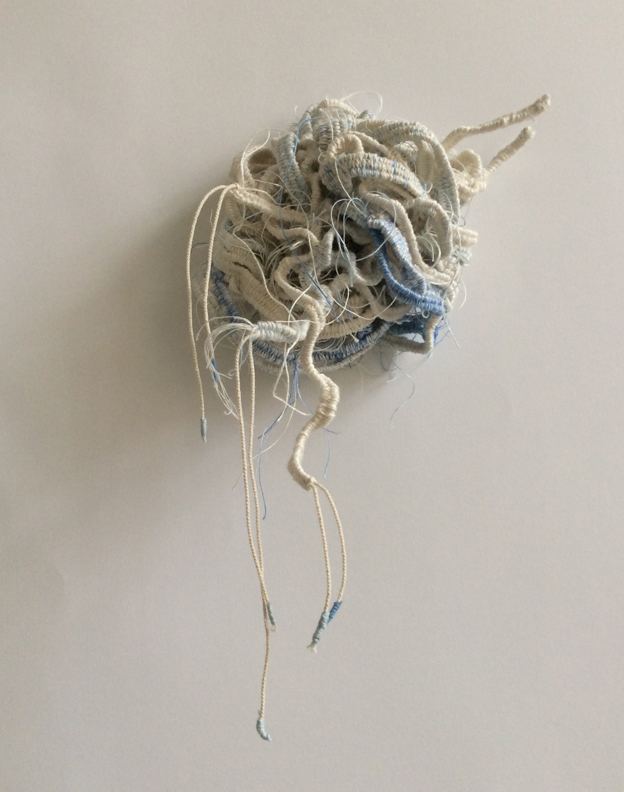 Knots. I & II. Sculptural tapestry