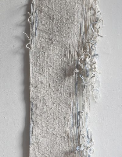 Fiona Hutchison, A Line of Water - Woven tapestry