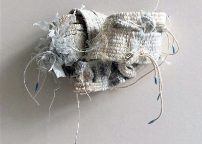 Fiona Hutchison, Knot II - Experiments in 3D weaving. 15cm x 8cm. For sale