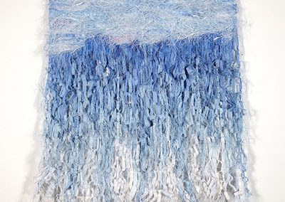Uncharted Waters - Woven Tapestry, 100cm x 120cm, 2010. For sale