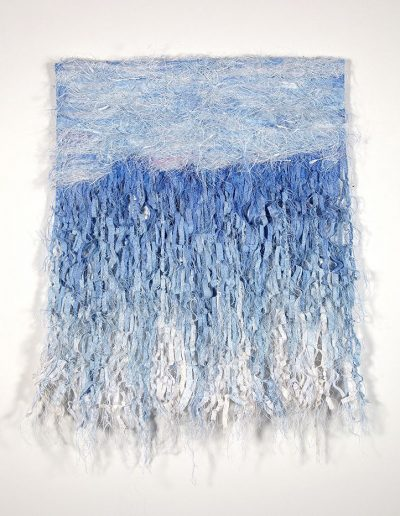 Fiona Hutchison, Uncharted Waters - Woven Tapestry, 100cm x 120cm, 2010. For sale