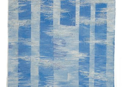Still Waters - Woven Tapestry, 126cm x 126cm, 2006. For sale
