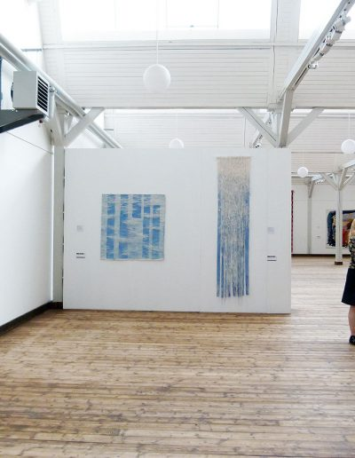 Fiona Hutchison, Over Fall and Still Water, Artapestry3, European Tapestry Forum touring exhibition. Denmark, Finland, Latvia, Norway and France