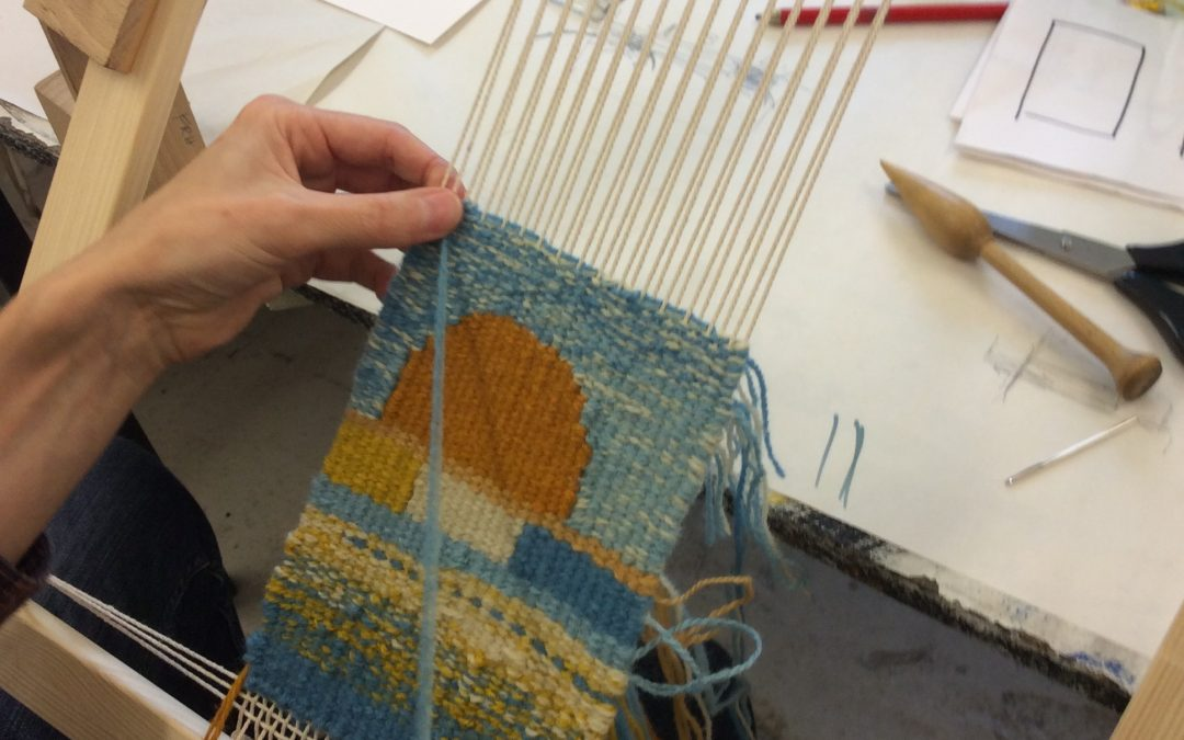 Introduction to tapestry weaving. 3rd/4th October 2020