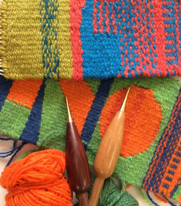 Introduction to tapestry weaving 11th – 12th January, 2020 COURSE FULL