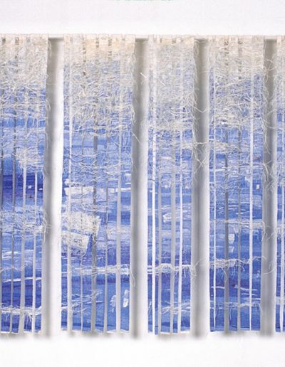 How Calm the Wild Water, 2005, Woven Tapestry, 320cm x 190cm