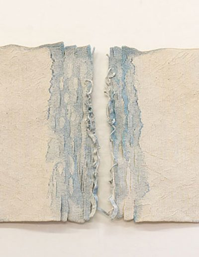 Shifting Tide, 2018, Woven tapestry