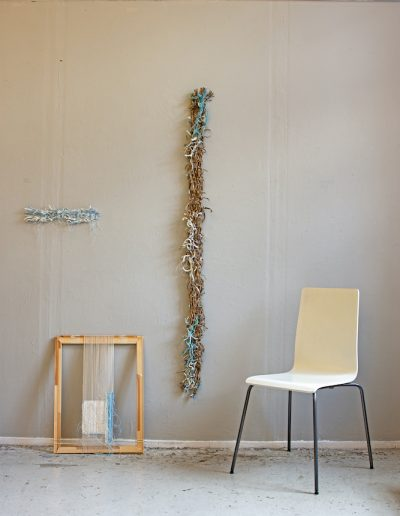 Fiona Hutchison, Shredded (Studio wall)