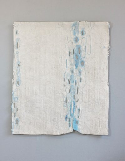Fiona Hutchison, Tide II, Woven tapestry,