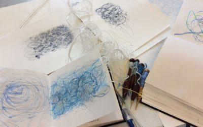 Exploring Sketchbooks 15th – 17th September 2021