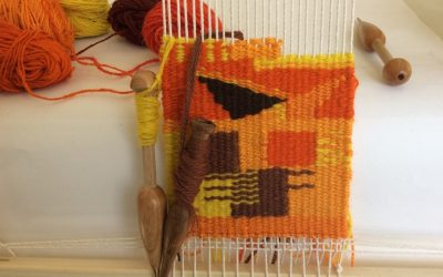 Introduction to tapestry weaving.  2nd & 3rd October  2021