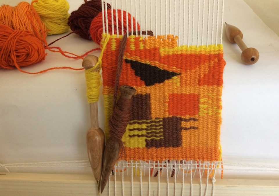 Introduction to tapestry weaving. 22nd & 23rd January 2022