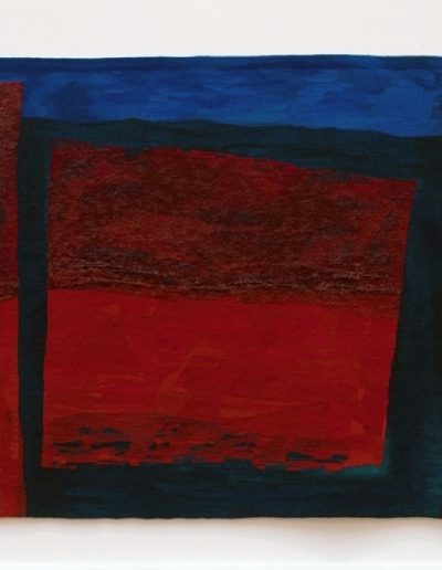 Tide Line, 1998, Woven tapestry, 240cm x 189cm