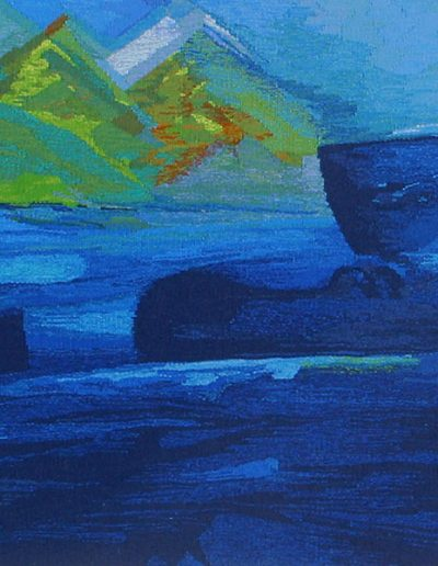 Fiona Hutchison, Who Hath Desired the Sea (detail)